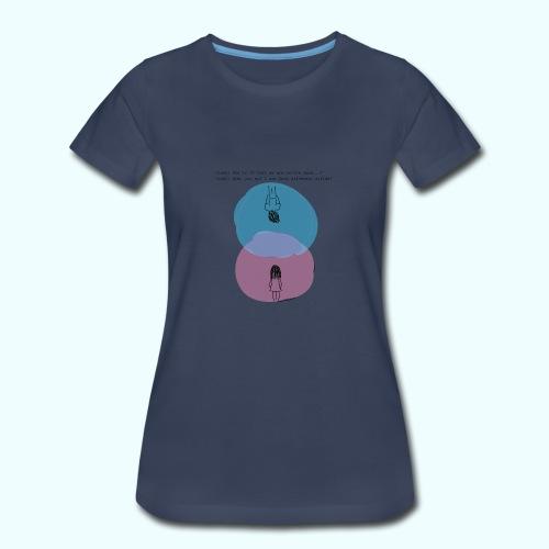 Different Worlds - Women's Premium T-Shirt