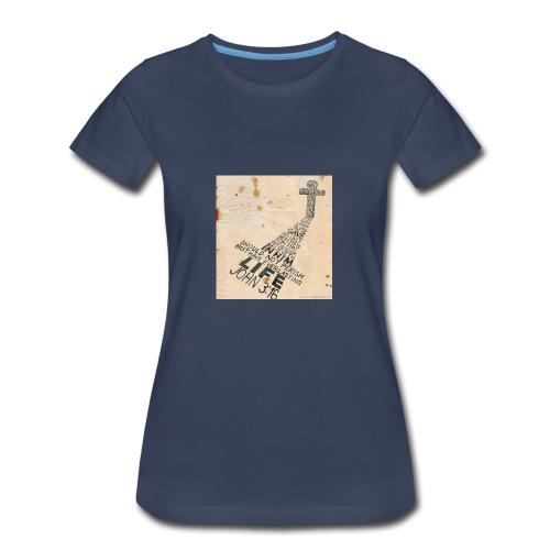 john3:16 - Women's Premium T-Shirt
