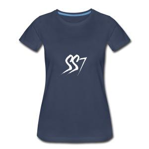 SS7 White logo - Women's Premium T-Shirt