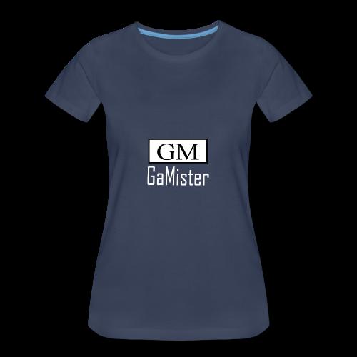 gamister_shirt_design_1_back - Women's Premium T-Shirt