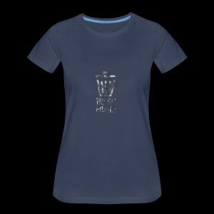 Grey Trash Logo - Women's Premium T-Shirt