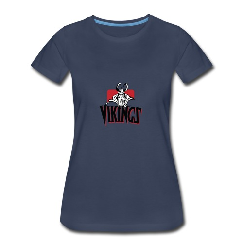Vikings Fans - Women's Premium T-Shirt