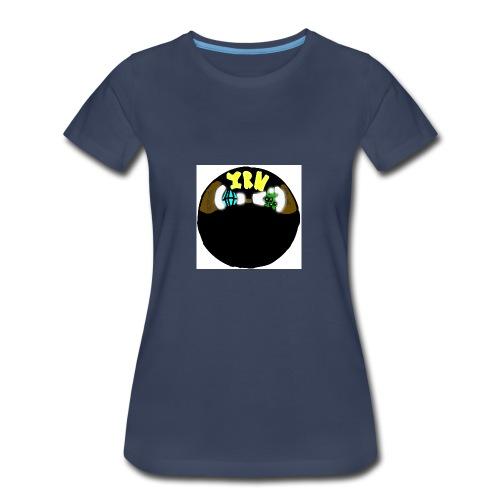 YOUNG RICH NINJA LOGO - Women's Premium T-Shirt