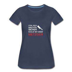 schlafmiteinemmetzger2 - Women's Premium T-Shirt