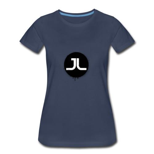 JL BLACK PAINT SPLATTER - Women's Premium T-Shirt