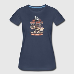 Female Project Manager Tee Shirt - Women's Premium T-Shirt