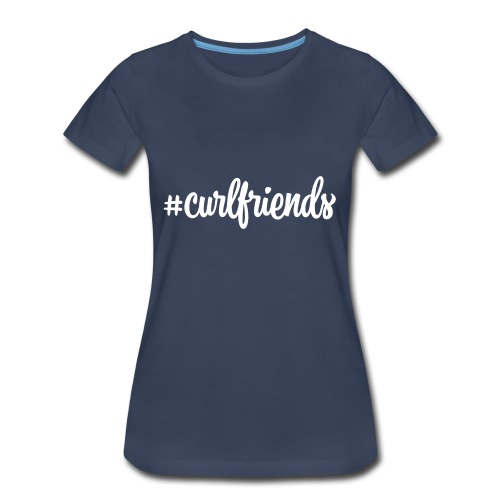 #curlfriends - Women's Premium T-Shirt
