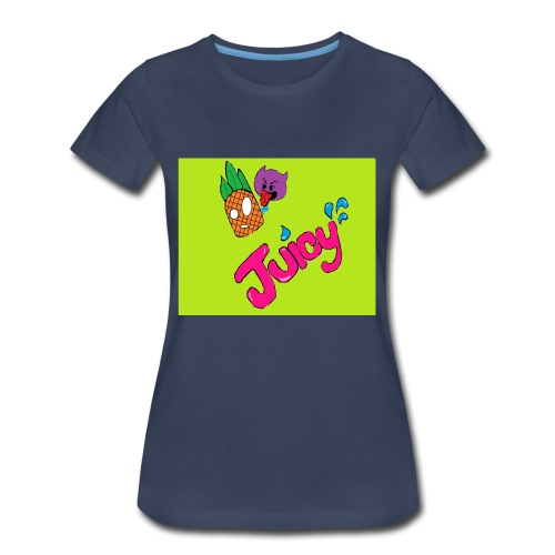 Juicy lime green - Women's Premium T-Shirt
