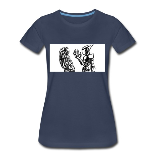 ROBOT ARMY - Women's Premium T-Shirt
