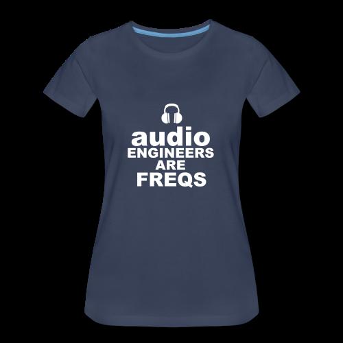 Audio Freqs - Women's Premium T-Shirt