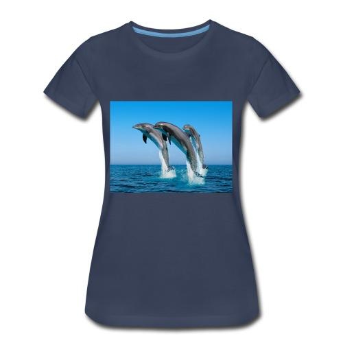 Dolphin Brand - Women's Premium T-Shirt