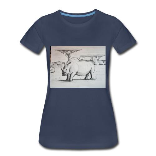 Rhino - Women's Premium T-Shirt