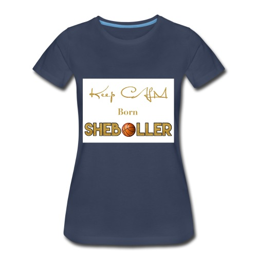 Girl Basketball shirt - Women's Premium T-Shirt