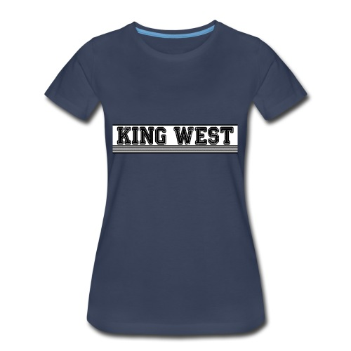King West OG logo - Women's Premium T-Shirt