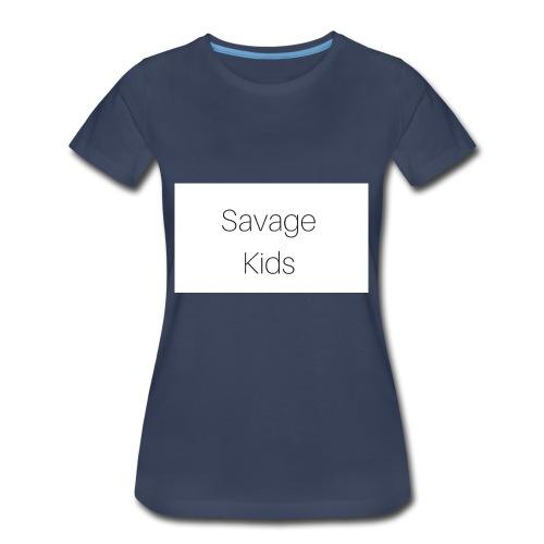 Savage Kids - Women's Premium T-Shirt