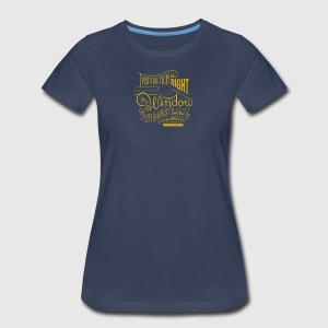 Inspiration is right outside the window - Women's Premium T-Shirt