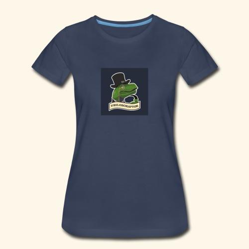 Philosoraptor - Women's Premium T-Shirt