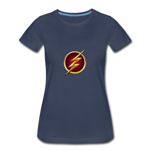 Flash Logo - Main Channel - Women's Premium T-Shirt