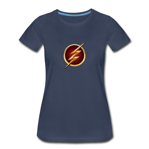Flash Logo - Main Channel - Women's Premium T-Shirt