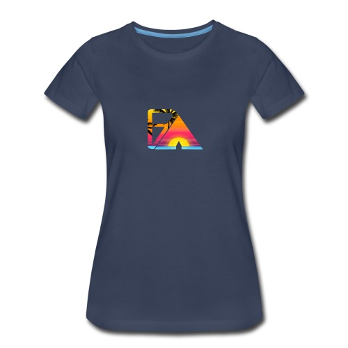 Beach theme - Women's Premium T-Shirt