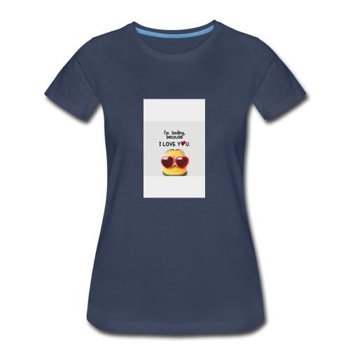 smiling - Women's Premium T-Shirt