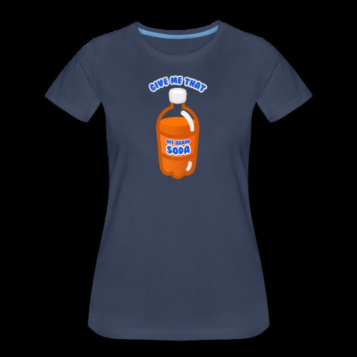Off-Brand Soda - Women's Premium T-Shirt