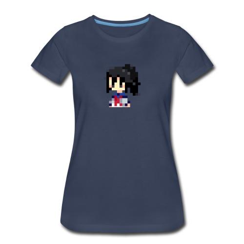 pixel manyland yandere Lara - Women's Premium T-Shirt