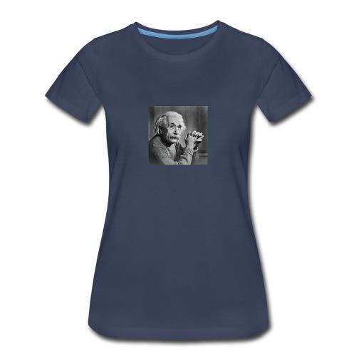 Albert Einstein - Women's Premium T-Shirt