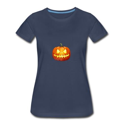 halloween-pumpkin - Women's Premium T-Shirt
