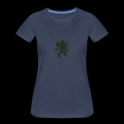 The AfrLoy logo - Women's Premium T-Shirt