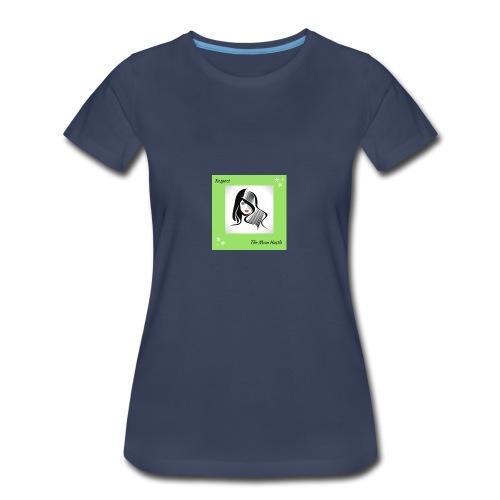 Belle-7- - Women's Premium T-Shirt