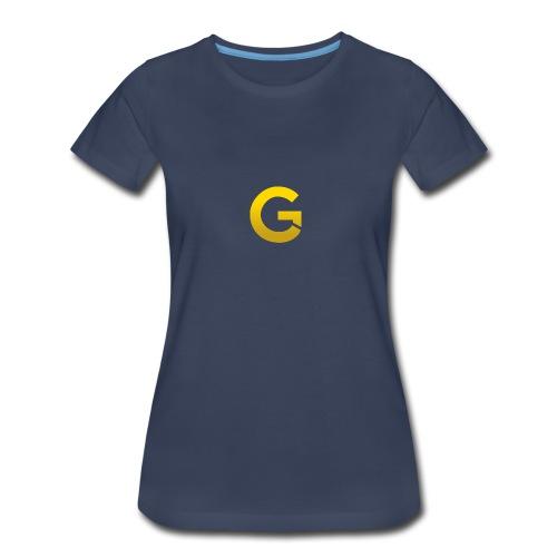Goldencami s Gold G - Women's Premium T-Shirt