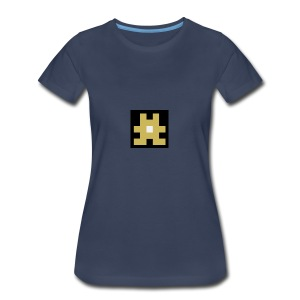 YELLOW hashtag - Women's Premium T-Shirt