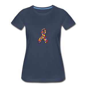Ruban Asperger - T-shirt premium pour femmes