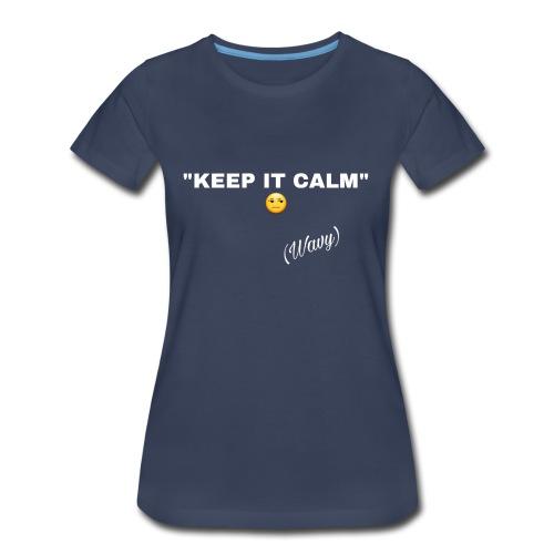 WavyDesign3 - Women's Premium T-Shirt