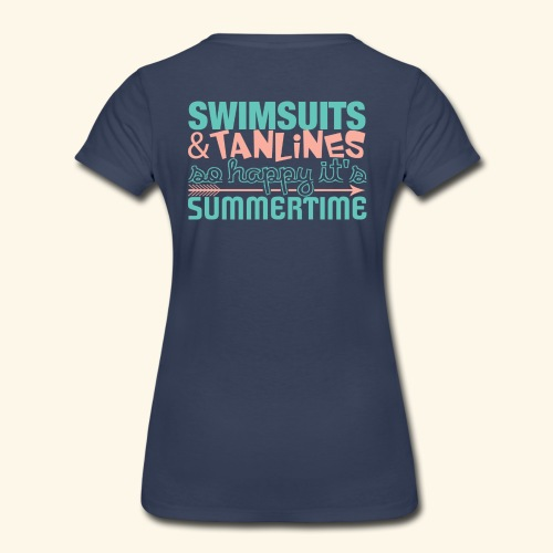 Swimsuits and Tanlines - Women's Premium T-Shirt