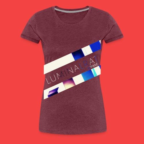 Bar Graph - Women's Premium T-Shirt