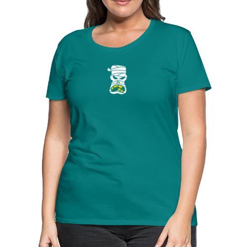 Angry Halloween Mummy - Women's Premium T-Shirt
