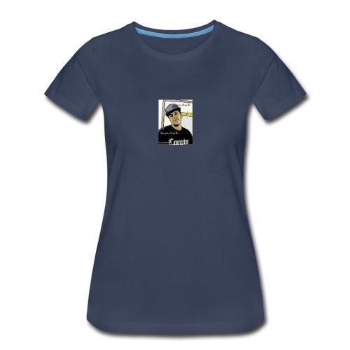 Kski oops your not y hun - Women's Premium T-Shirt