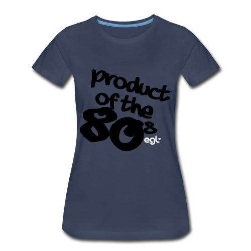 PRODUCTOF80 - Women's Premium T-Shirt
