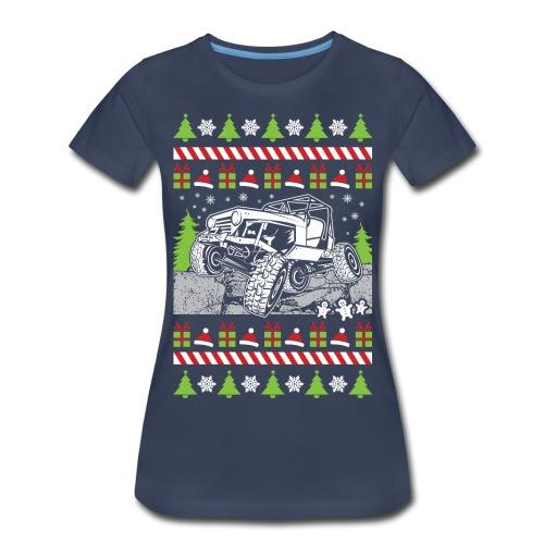 Ugly Christmas Wrangler - Women's Premium T-Shirt