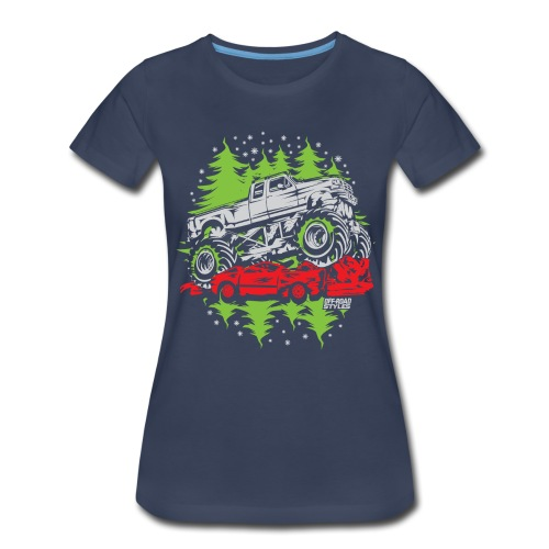 Ugly Christmas Monster - Women's Premium T-Shirt