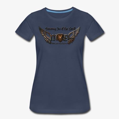Iron MOD Logo w/Title - Women's Premium T-Shirt