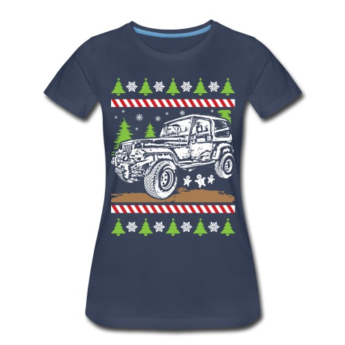 Ugly Christmas Jeeper - Women's Premium T-Shirt