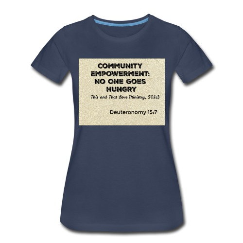 Deuteronomy 15:7 - Women's Premium T-Shirt