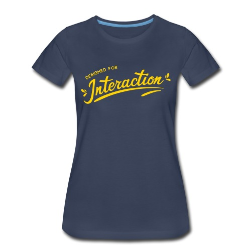 Designed for Interaction - Women's Premium T-Shirt