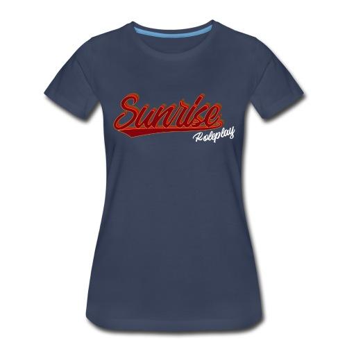 Sunrise Roleplay Logo (White) - Women's Premium T-Shirt