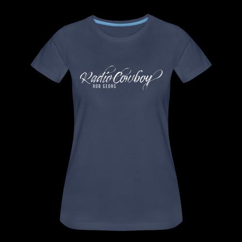 Radio Cowboy Merch - Front Design - Women's Premium T-Shirt