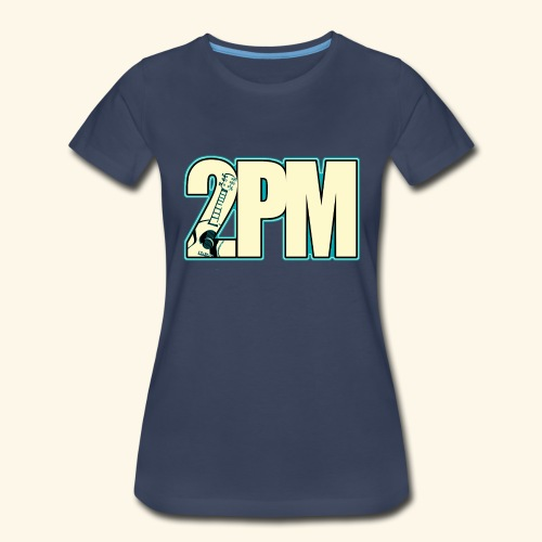 2PM Teal Guitar Logo - Women's Premium T-Shirt