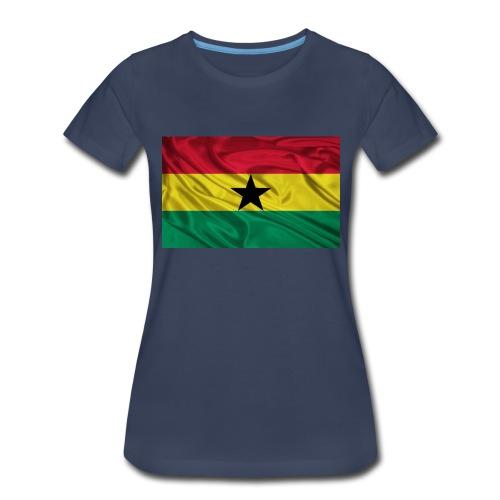 Ghana-Flag - Women's Premium T-Shirt